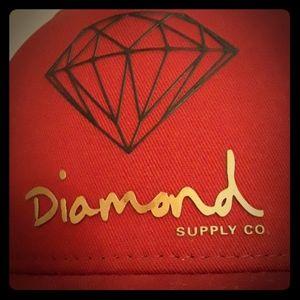 NWOT Diamond Supply Co hat